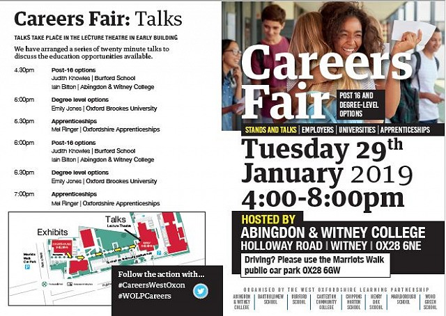 WOLP Careers Convention - Abingdon & Witney College