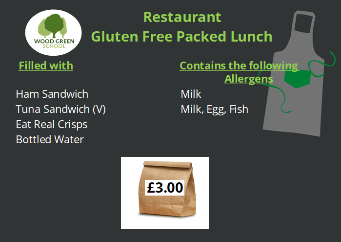 Gluten Free Packed Lunch